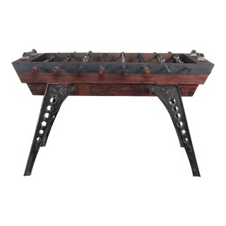 Karlis Iron Foosball Table For Sale