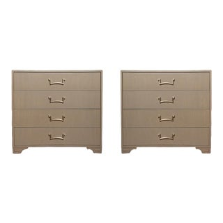 1950s Modernist Dressers Designed by Lorin Jackson for Grosfeld House - A Pair For Sale