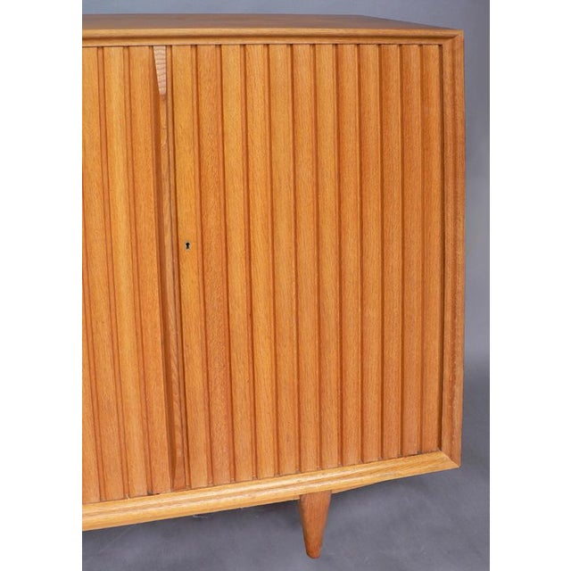 Italian Large Mid-Century Italian Cabinet For Sale - Image 3 of 6