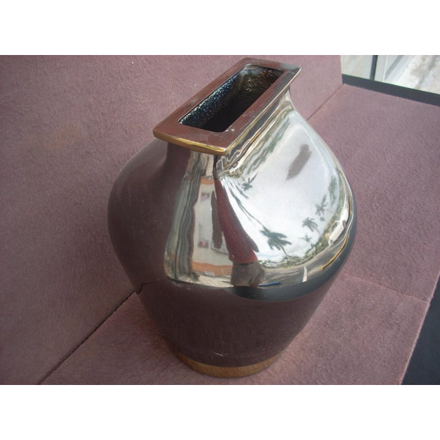 Contemporary Contemporary Vase For Sale - Image 3 of 4