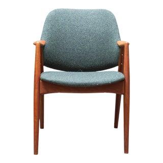 Danish Modern Teak Alf Swensson Armchair For Sale
