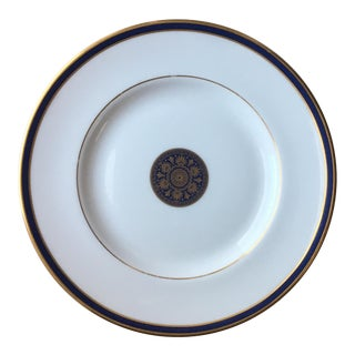 1995 Royal Doulton Oxford Blue Plate For Sale
