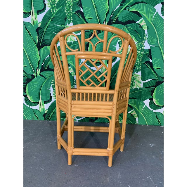 1960s Brighton Pavillion Style Dining Chairs - Set of 4 For Sale - Image 5 of 9