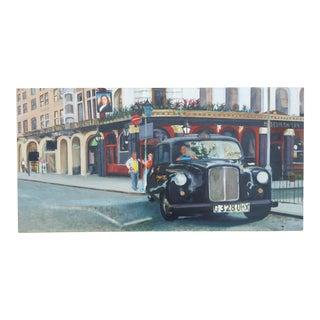 London Cabbie Painting