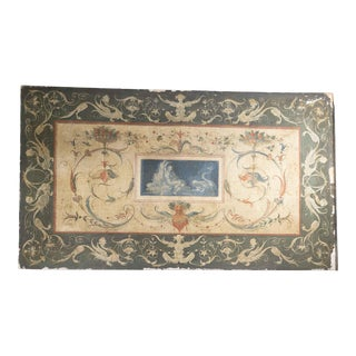 Late 18th Century Italian Renaissance Style Oil Painting on Canvas For Sale