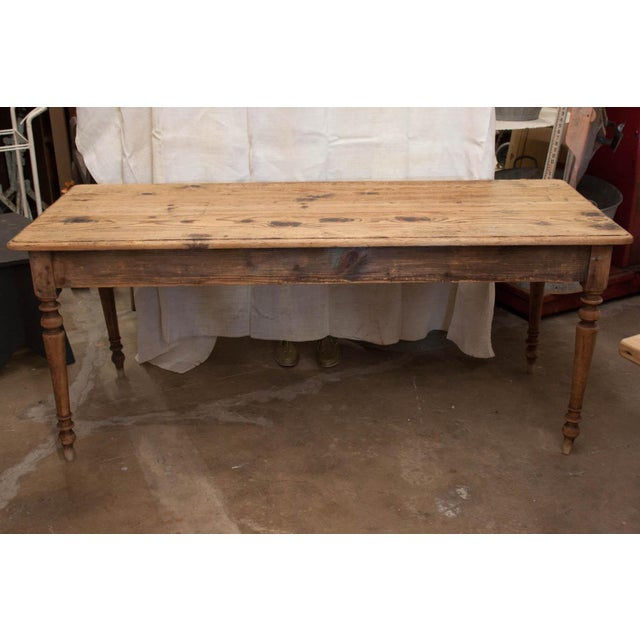 Vintage French Spindle Leg Table - Image 2 of 7