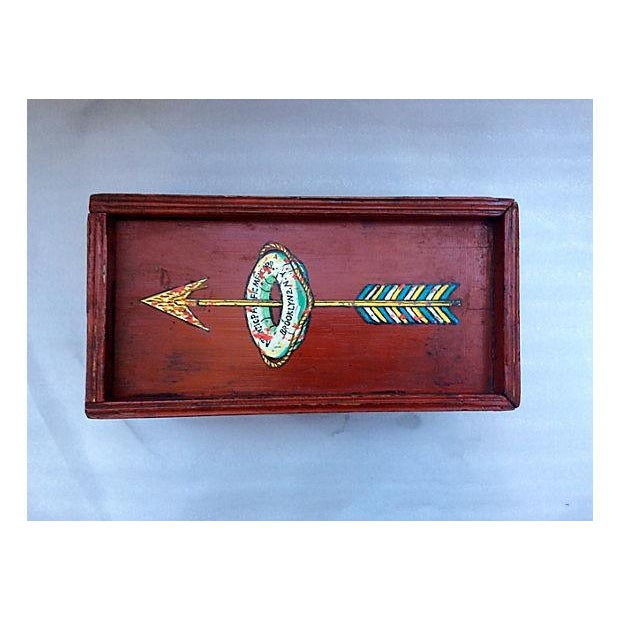 Nautical Ship's Antique Mystery Box For Sale - Image 3 of 9