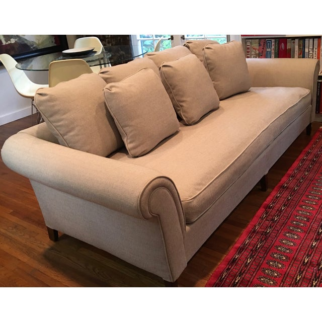 1970s Linen Sofa - Image 6 of 6