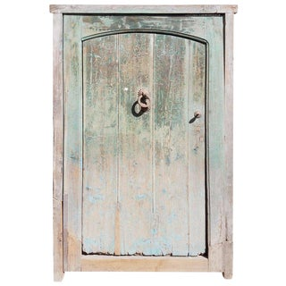 1920s Mororrcan Dia Turquoise Door For Sale