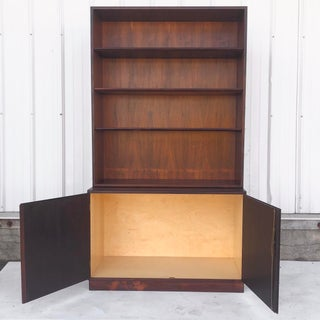 Mid-Century Modern Rosewood Bookcase and Cabinet by John Stuart Preview