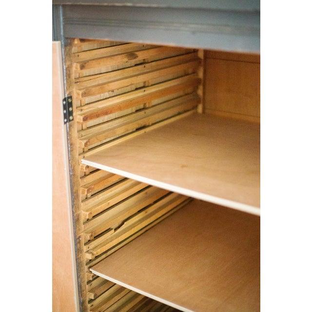 Antique Letterpress Cedar Cabinet - Image 9 of 11