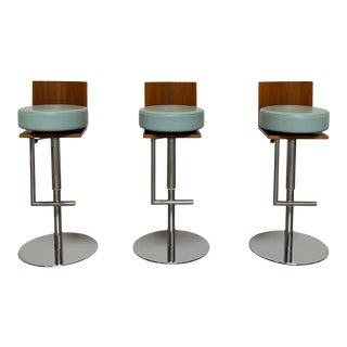 1980s Le Spighe Stools - Set of 3 For Sale