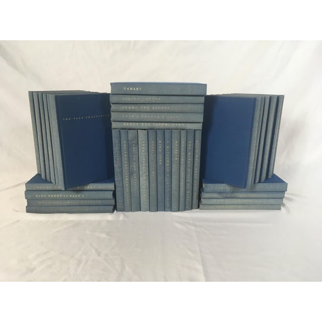 Yale Shakespeare Decorator Blue Books - 38 Volumes For Sale In Portland, OR - Image 6 of 6