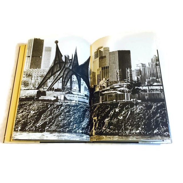 Mid Century Modern CALDER Coffee Table Book Art Photography Book For Sale - Image 5 of 6