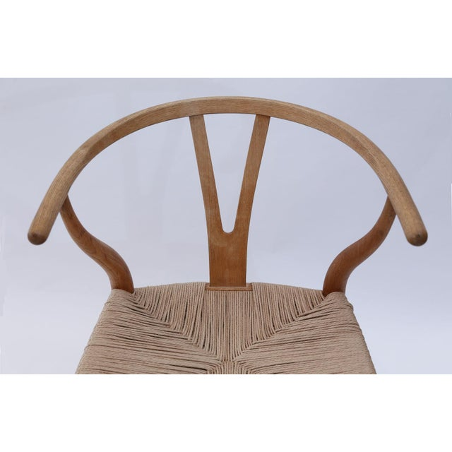 Wishbone Armchairs by Hans Wegner For Sale - Image 9 of 13