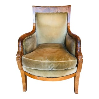Early 19th Century French Empire Bergere For Sale