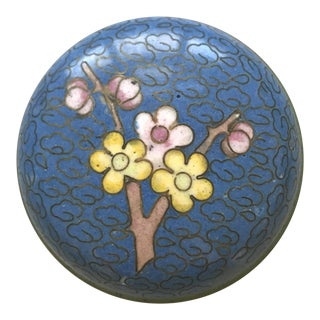Pill Box Cloisonné Box For Sale