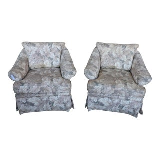 Vintage Kravet Chairs- A Pair For Sale