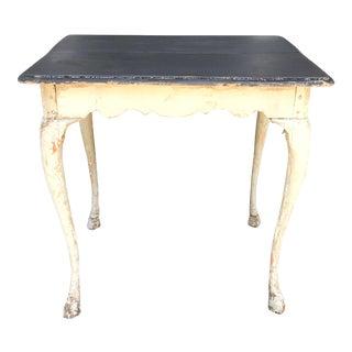 Swedish Hoof Footed Tea / Side Table For Sale