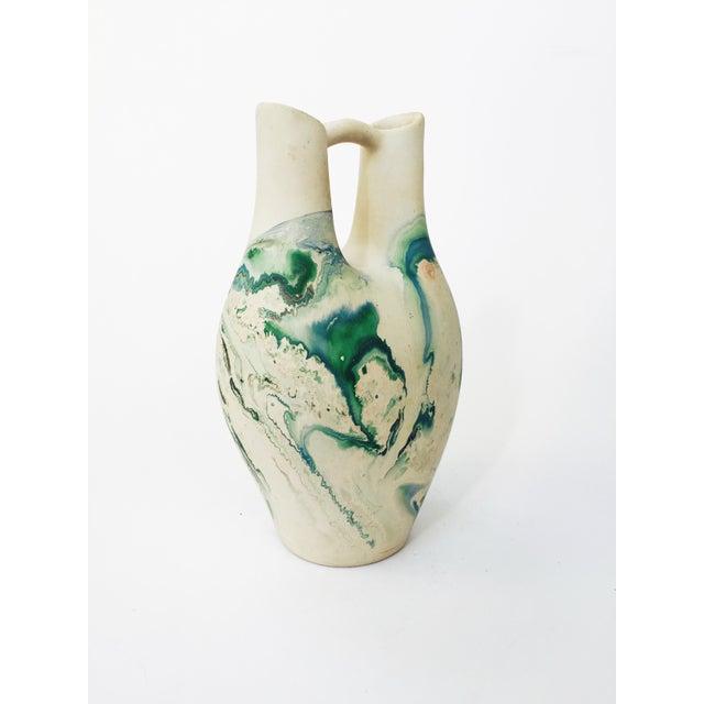 Vintage Large Nemadji Wedding Vase - Image 5 of 6