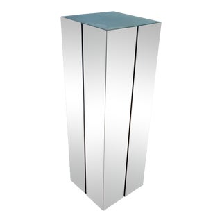 George Kovacs Steel Pedestal / Floor Lamp For Sale