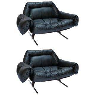1960s Jorge Zalszupin Brazilian Jacaranda Presidencial Lounge Chairs - a Pair For Sale