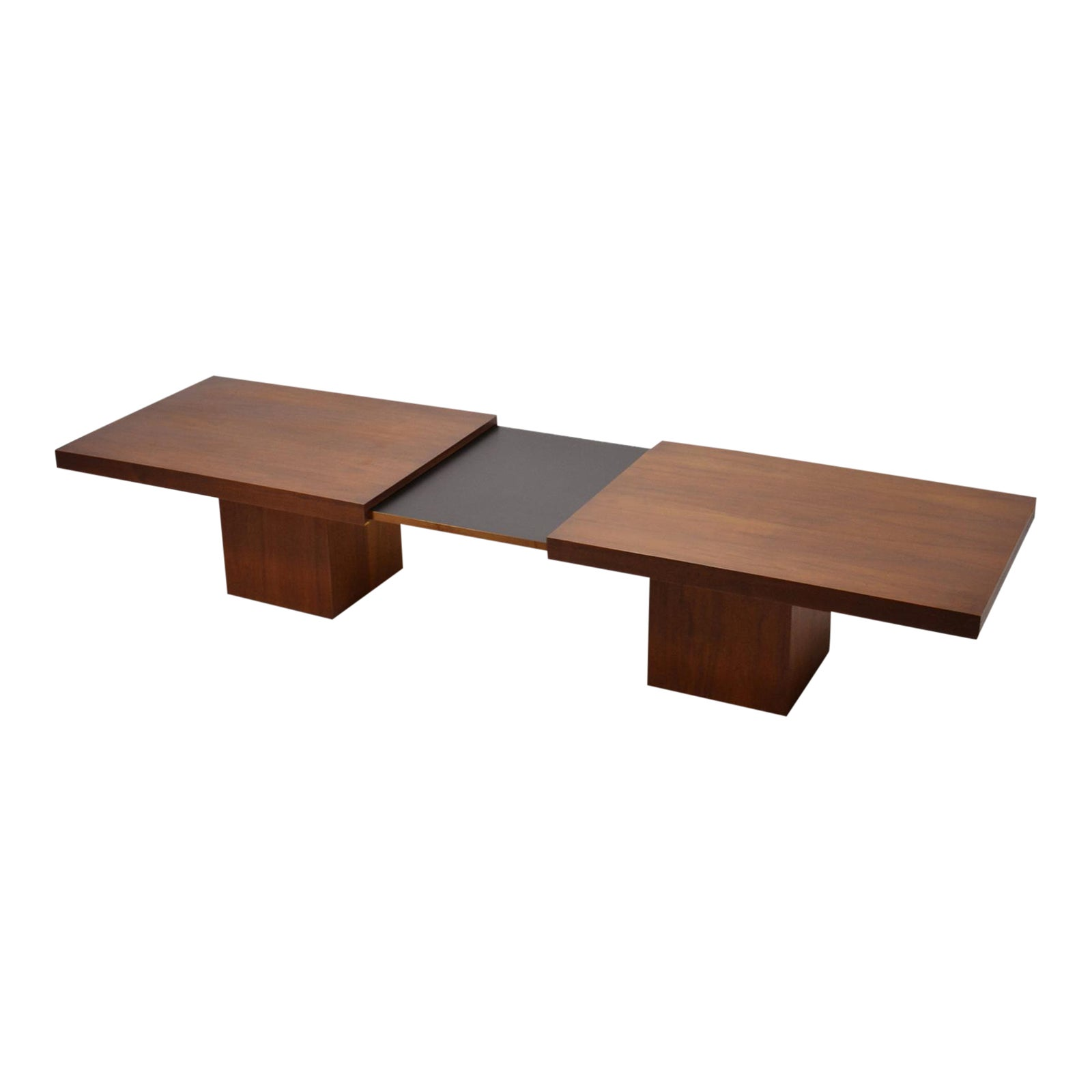 Sophisticated John Keal Expanding Coffee Table By Brown Saltman DECASO - Expanding conference table