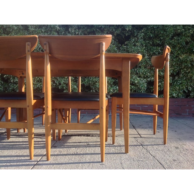 1960's Walnut Dining Set, B.P. Furniture - Image 4 of 7
