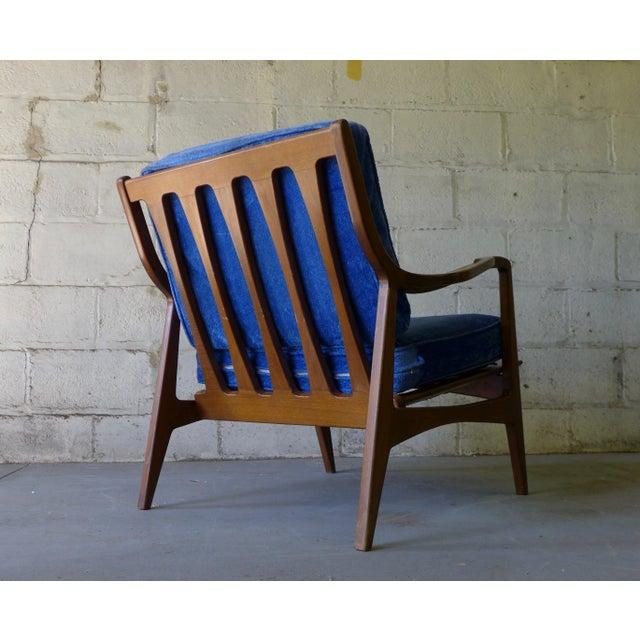 Norwegian Mid Century Modern Lounge Chair - Image 5 of 6