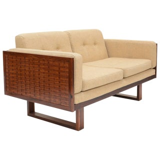 Poul Cadovius Two-Seat Sofa in Rosewood for France & Søn For Sale