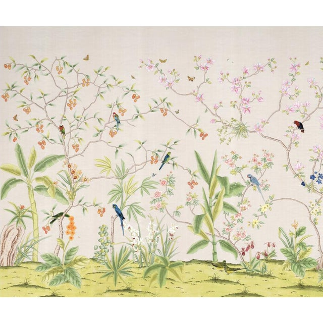 """Not Yet Made - Made To Order Casa Cosima Palisades Wallpaper Mural - 4 Panels 144"""" W X 108"""" H For Sale - Image 5 of 5"""
