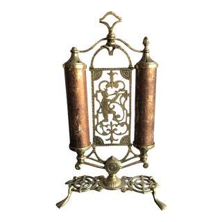Early 20th Century Brass Light