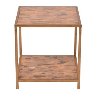 Julian Chichester Faux Horn Inlaid Side Table For Sale