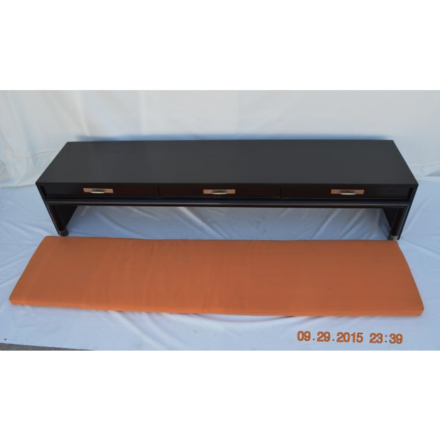 3-Drawer Coffee Table/Bench With Cushion - Image 4 of 11