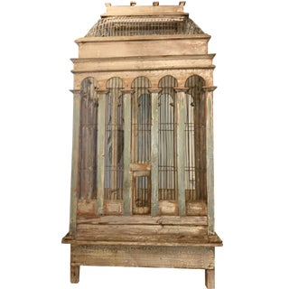 Late 19th Century French Provincial Bird Cage For Sale