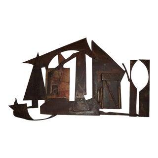 Brutalist House Sculpture For Sale
