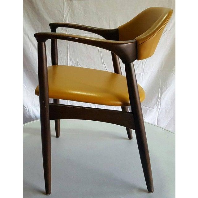 Danish Modern Teak Desk Chair - Image 2 of 5