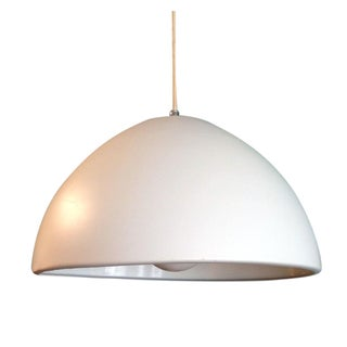 Danish Modern White Hanging Pendant Lamp