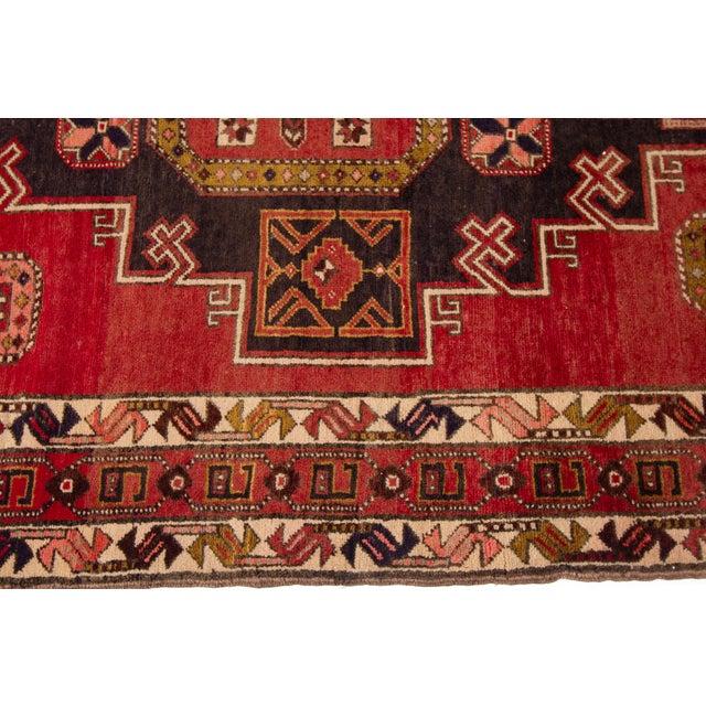 "Apadana - Vintage North West Persian Rug, 4'7"" X 11'3"" For Sale - Image 4 of 9"