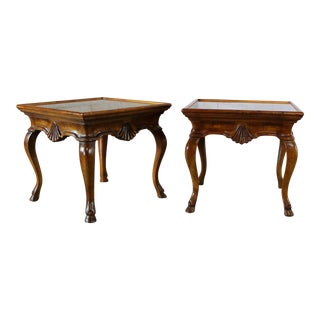 Vintage Brittiany for Heritage Hooved Side Tables - a Pair For Sale