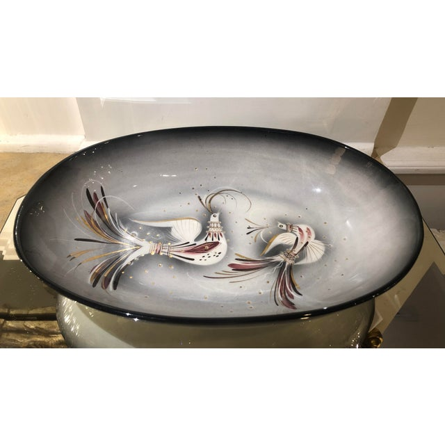 Fabulous Sascha Brastoff Hollywood Regency Centerpiece Bowl For Sale In Los Angeles - Image 6 of 6