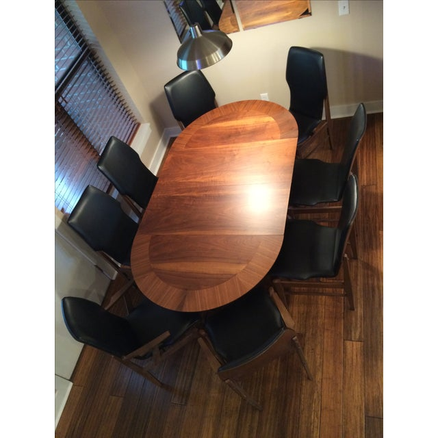 Mid Century Table & Chairs Dining Set - Image 2 of 11