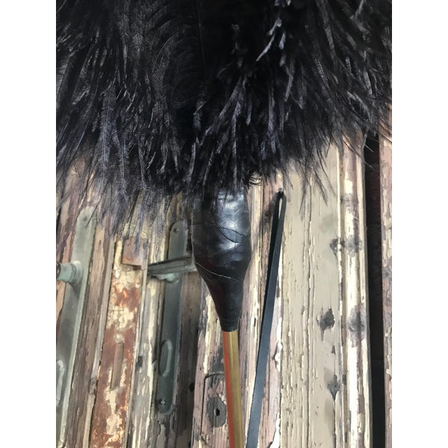 Not Yet Made - Made To Order Duster with Ostrich Feathers and Leather, Handcrafted For Sale - Image 5 of 7