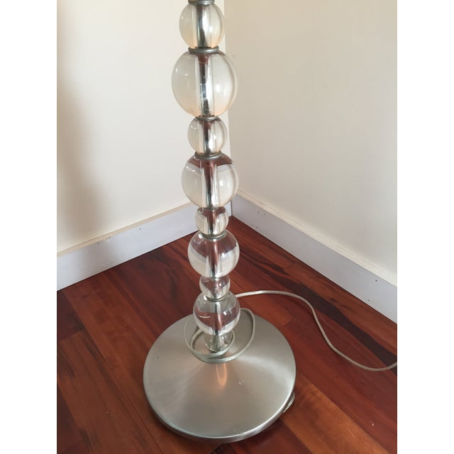 Mid-Century Crystal Floor Lamp - Image 3 of 6
