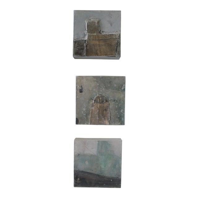 Original Paul Meyer Paintings - Set of 3 For Sale