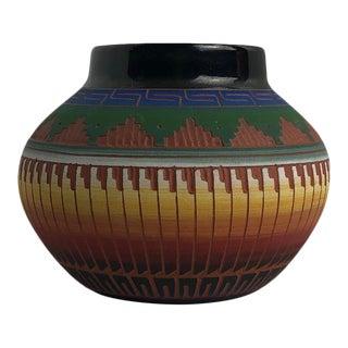 1960s Rick & Mary Etsitty Hand Made Navajo Pottery For Sale