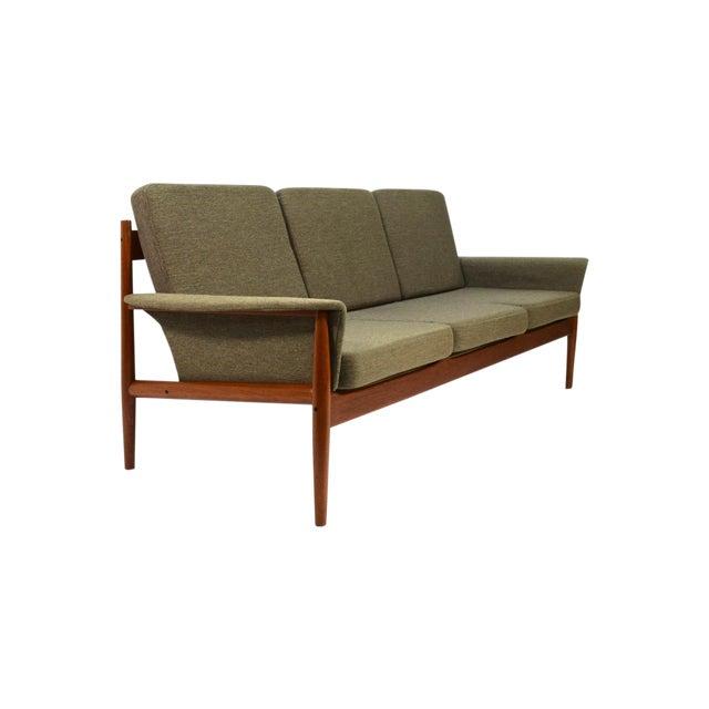 Grete Jalk Sculpted Teak Sofa - Image 1 of 6