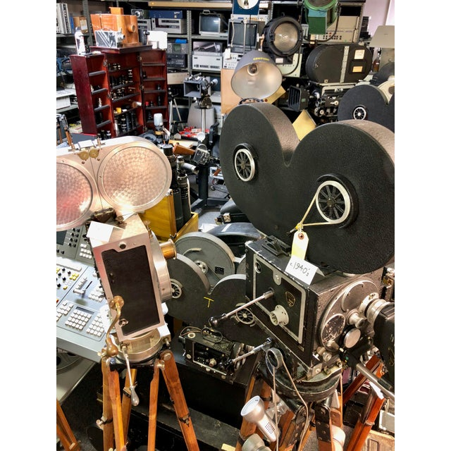 View Lex Circa 1950 Film Projector in 100% Original State For Sale - Image 11 of 12