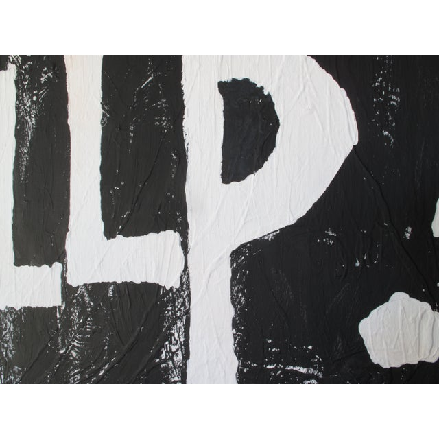 Modern Black & White Political Painting: GOP - Image 10 of 11