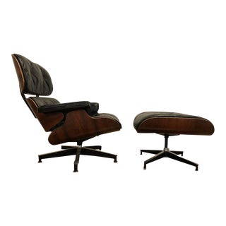 Eames Herman Miller 670-671 Rosewood Chair & Ottoman, 1960's
